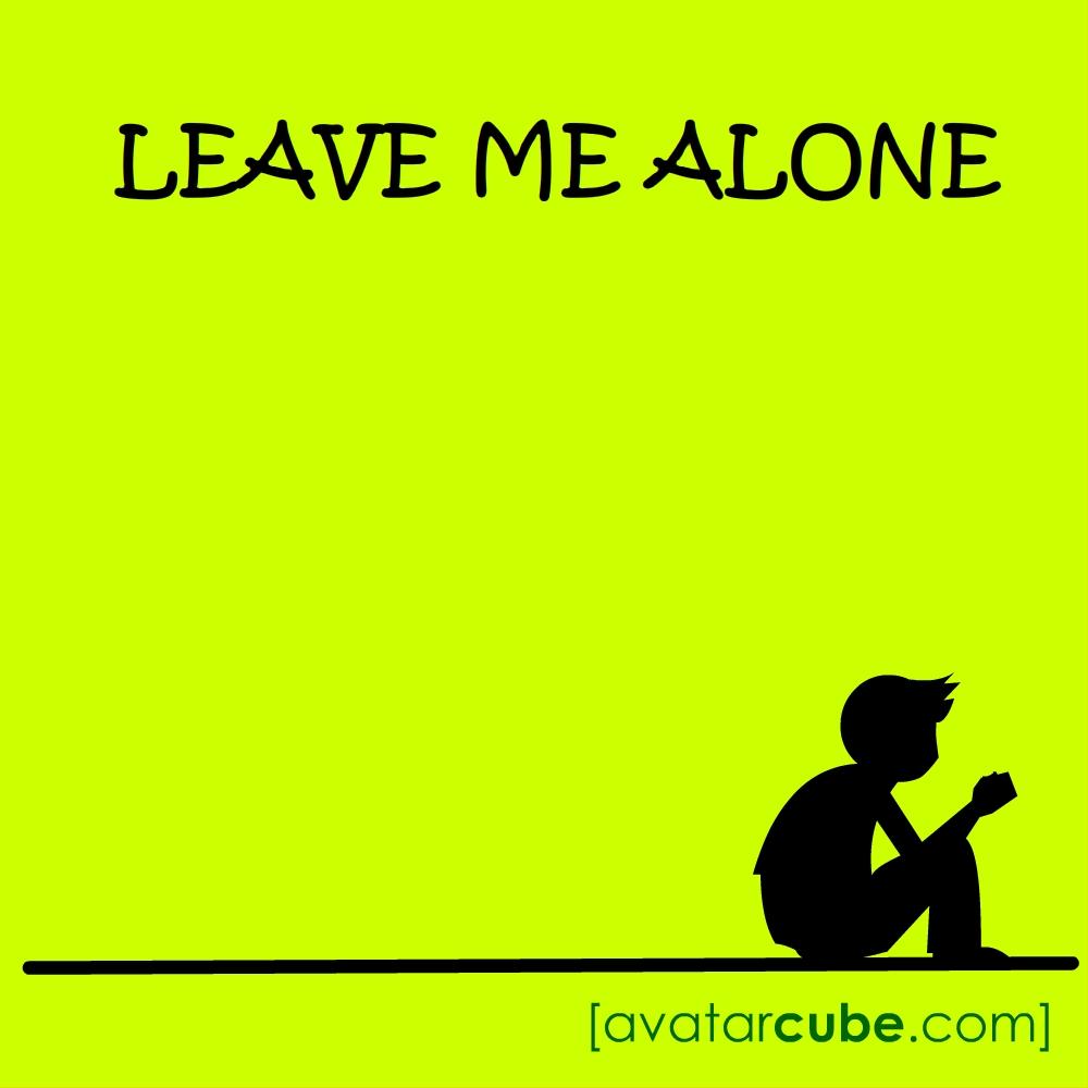 Leave Me Alone Boy Avatarcube